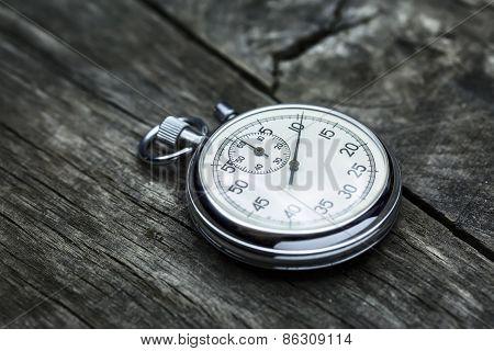 Steel stopwatch