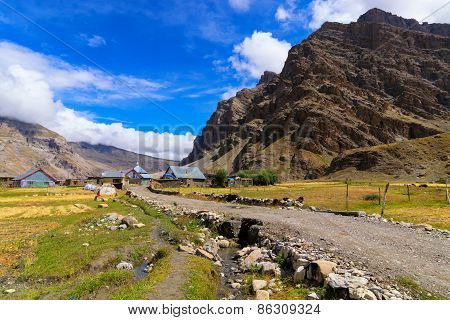 Drass Village, Kargil, Ladakh, Jammu And Kashmir, India