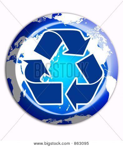 Signo de reciclar