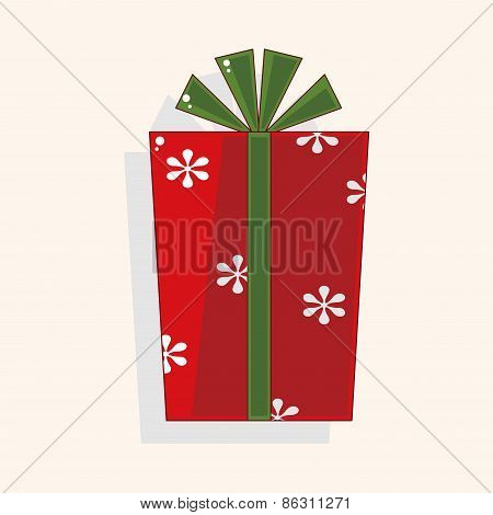 Christmas Gifts Theme Elements
