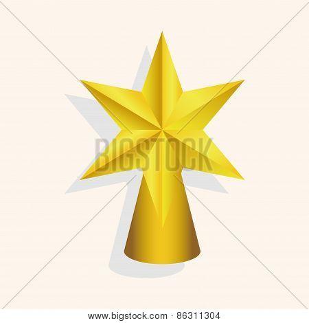 Christmas Star Theme Elements
