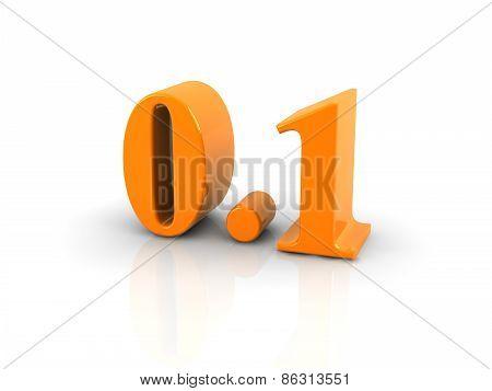Number 0.1