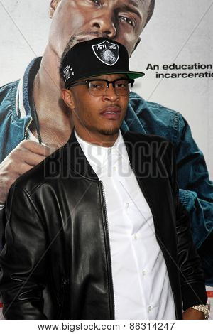 LOS ANGELES - MAR 25:  Clifford Harris Jr., aka T.I. at the