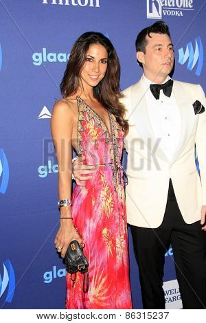 LOS ANGELES - MAR 21:  Nick Sandow at the 26th Annual GLAAD Media Awards at the Beverly Hilton Hotel on March 21, 2015 in Beverly Hills, CA