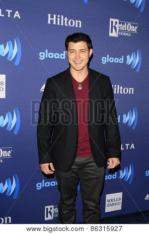 Christopher SeanLOS ANGELES - MAR 21:  Christopher Sean at the 26th Annual GLAAD Media Awards at the Beverly Hilton Hotel on March 21, 2015 in Beverly Hills, CA