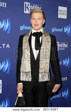 LOS ANGELES - MAR 21:  Henry Conway at the 26th Annual GLAAD Media Awards at the Beverly Hilton Hotel on March 21, 2015 in Beverly Hills, CA