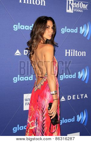 LOS ANGELES - MAR 21:  Leilani Dowding at the 26th Annual GLAAD Media Awards at the Beverly Hilton Hotel on March 21, 2015 in Beverly Hills, CA
