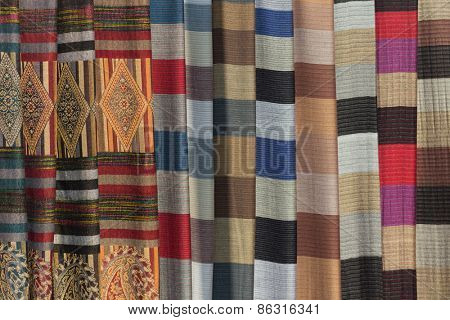 Vietnamese ethnic scarfs from White Thai people ethnicity