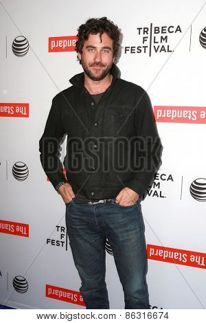 LOS ANGELES - MAR 23:  Bryn Mooser at the 2015 Tribeca Film Festival Official Kick-off Party at the The Standard on March 23, 2015 in West Hollywood, CA