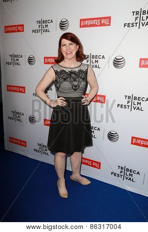 LOS ANGELES - MAR 23:  Kate Flannery at the 2015 Tribeca Film Festival Official Kick-off Party at the The Standard on March 23, 2015 in West Hollywood, CA