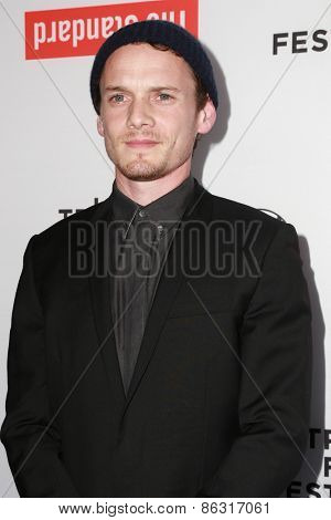 LOS ANGELES - MAR 23:  Anton Yelchin at the 2015 Tribeca Film Festival Official Kick-off Party at the The Standard on March 23, 2015 in West Hollywood, CA