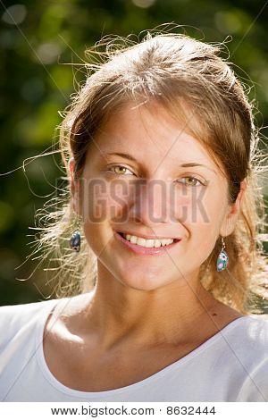 Teenager Girl  Outdoor