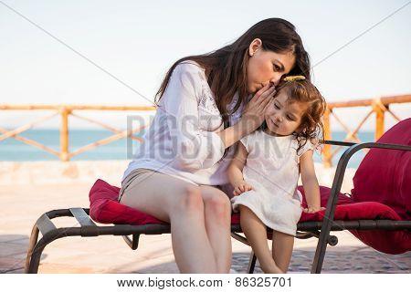 Telling My Daughter A Secret