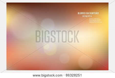 Vector Illustrator Desige blur Bokeh Light Backgroun