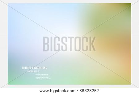 Abstract Colorful Blurred Background.