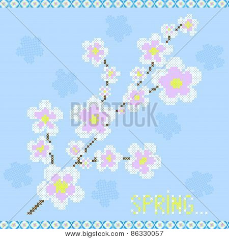Abstract Illustration Of Sakura