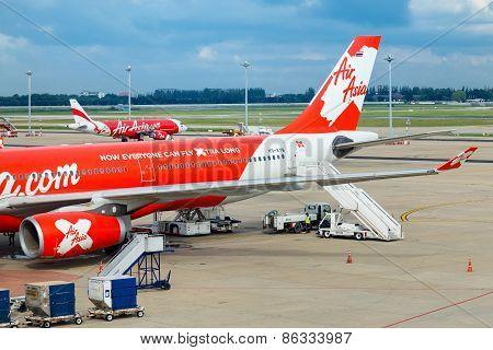 AirAsia in Bangkok Thailand