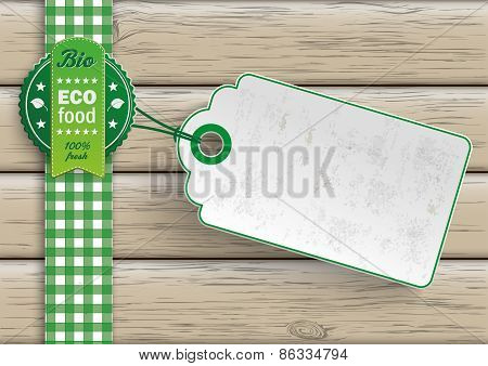 Bio Eco Food Price Sticker