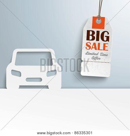 Car Cover Price Sticker Sale