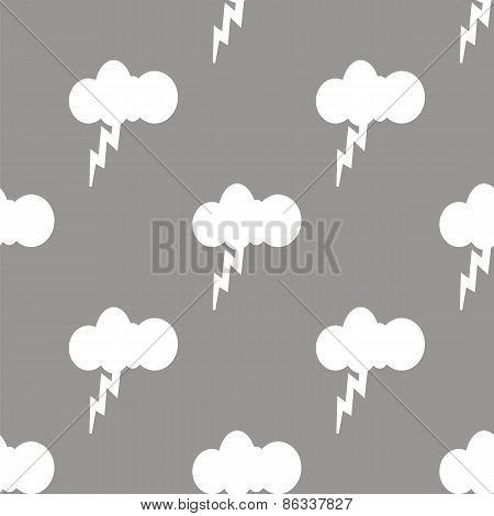 Storm seamless pattern