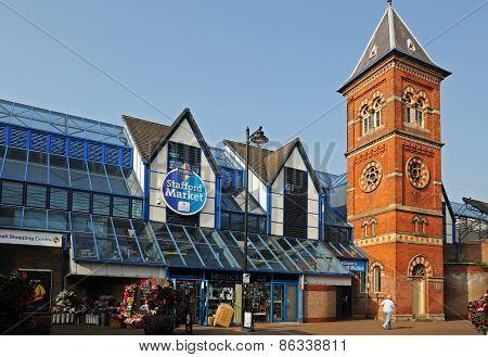 Stafford Market Hall.