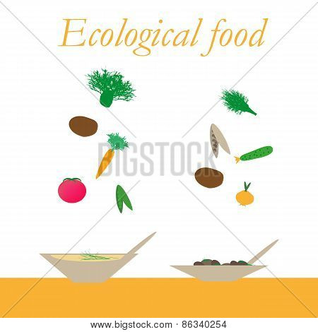 Ecological food from natural products