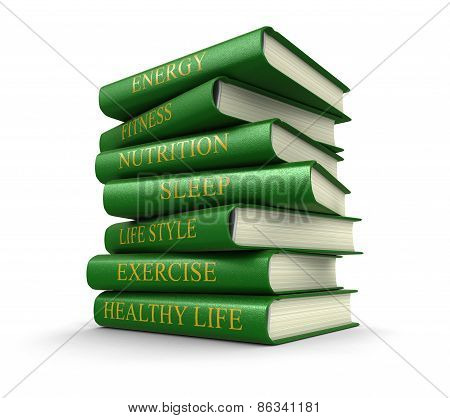 Healthy lifestyle (clipping path included)