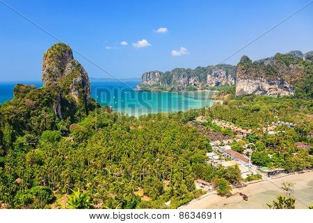 Railay Beach. Krabi Province, Thailand