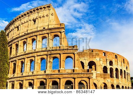 Colosseum. Rome, Italy