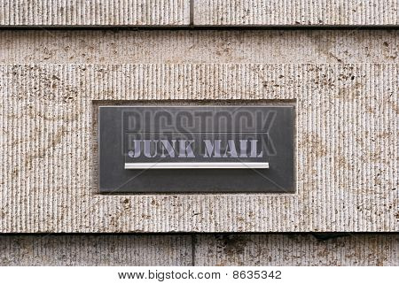 Junk Mail Letterbox