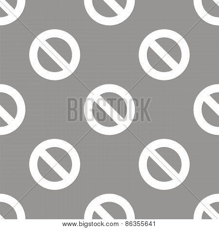 Ban seamless pattern