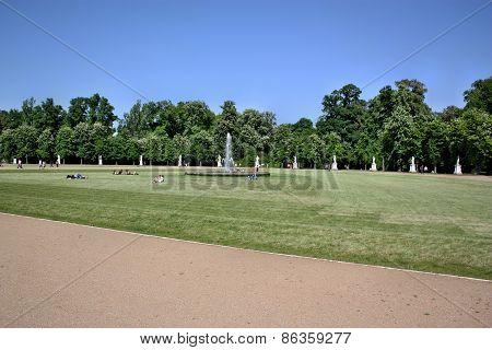 Rest In The Park Sanssouci