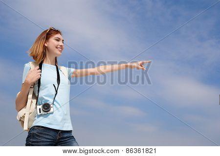 Happy Travel Woman