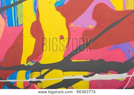 abstract painting background illustration