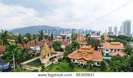 Temple In Penang ,malaysia