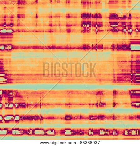 Antique vintage texture, old-fashioned weathered background. With different color patterns: yellow (beige); purple (violet); cyan; pink
