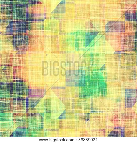 Grunge colorful background or old texture for creative design work. With different color patterns: yellow (beige); green; purple (violet); blue