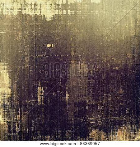 Grunge old-school texture, background for design. With different color patterns: brown; gray; purple (violet)