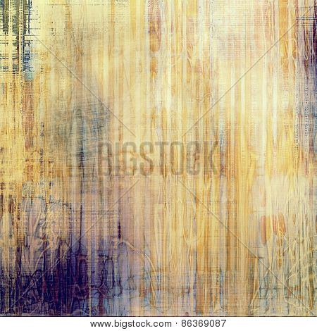 Old, grunge background or ancient texture. With different color patterns: yellow (beige); brown; purple (violet)