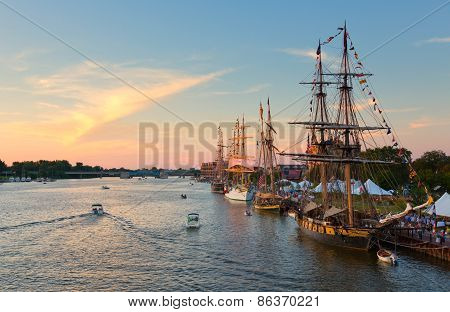 2013 Tall Ship Celebration In Bay City Michigan