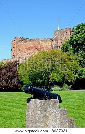 Tamworth castle.