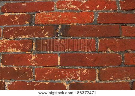 Brick Wall, Red Brick Wall Background