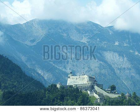 Ancient Burg Hohenwerfen, Salzburgerland