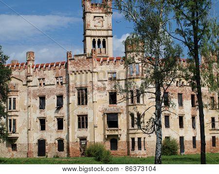 Ruins Of A Castle , Cesky Rudolec