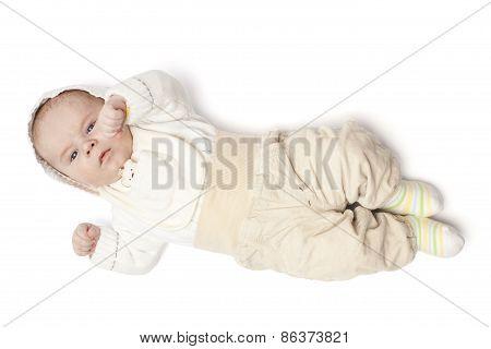 Baby Boy Dressed