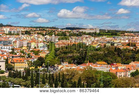 View Of Lisbon - Portugal