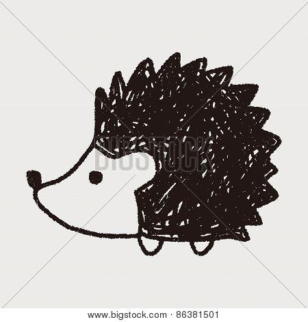 Doodle Hedgehog