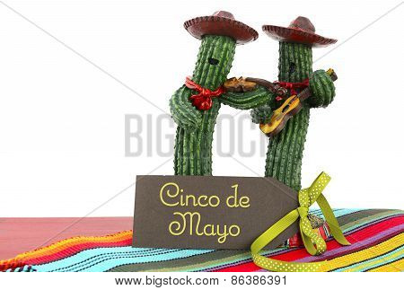 Happy Cinco de Mayo Concept