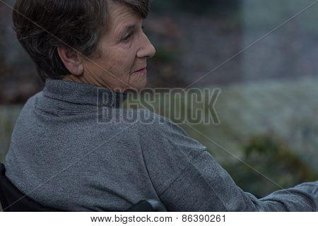 Pensioner Suffering For Depression