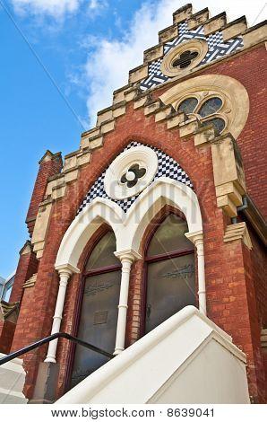Entrance to a Church beckons